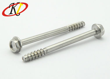Hexagon Washer Head Stainless Steel Self Tapping Screws with Half Thread